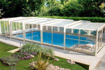 Abri de piscine Triptik haut © Auvinet - Abri de Piscine Gustave Rideau